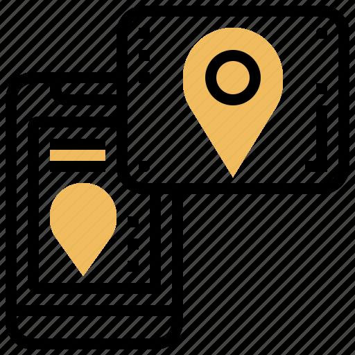 direction, gps, location, map, navigator icon