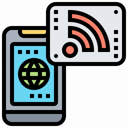 Connection, internet, network, signal, wireless icon - Download on Iconfinder