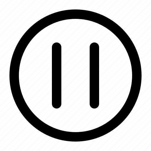 audio, media, pause, stop icon