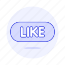 button, like, media, social, text