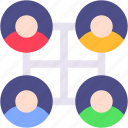 network, social, user, media, friends