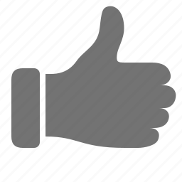 approval, hand, like, social, thumb, up icon