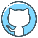 github, logo icon