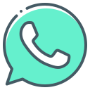 logo, handset, whatsapp, telephone