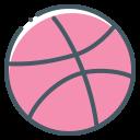 ball, basketball, dribbble, logo
