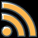 logo, rss