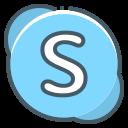 logo, skype