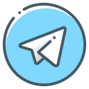 air, airplane, logo, paper, plane, telegram icon