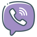 handset, logo, telephone, viber