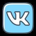 logo, vk, vkontakte