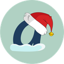 ask, askfm, christmas, snow icon