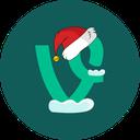 vine, christmas, holiday, snow