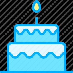 cake, communication, interaction, media, social, web icon