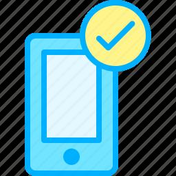 communication, interaction, media, sign, social, verification, web icon
