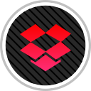 dropbox, media, online, social icon