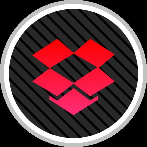 dropbox, media, online, social icon