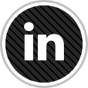 linkedin, media, online, social icon