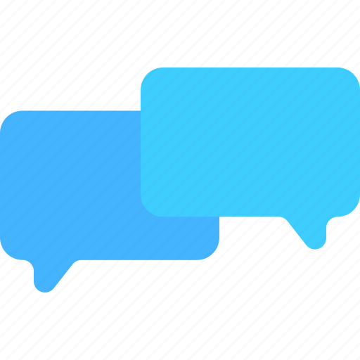 chat, communication, interaction, media, social, speech, web icon