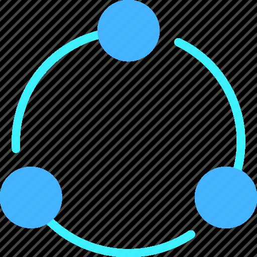 communication, interaction, media, share, social, web icon