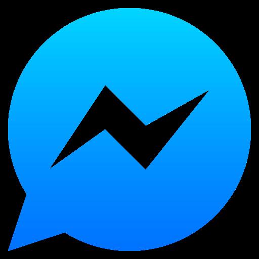 fb, logo, messenger, social media icon