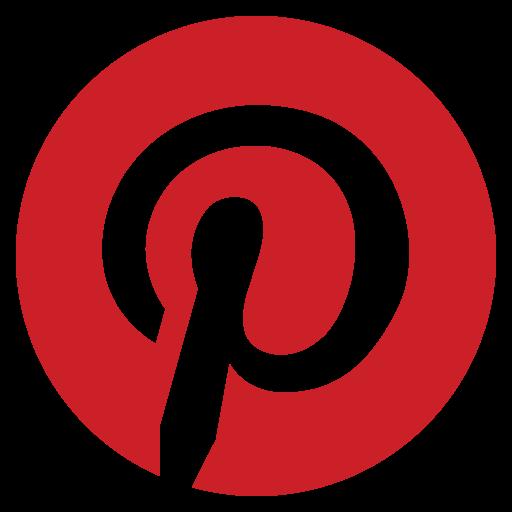 logo, pinterest, social media icon