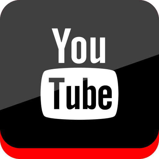 media, online, social, youtube icon