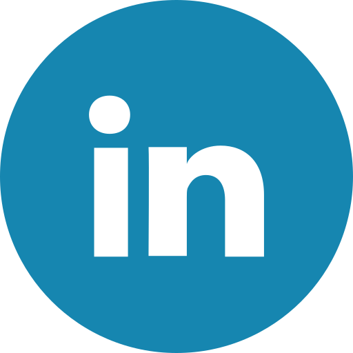 Image result for linked in icon circle
