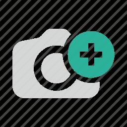 add, image, photo, upload icon