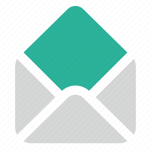 mail, open, read icon