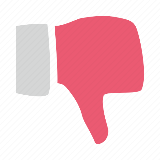 Dislike, down, hand, hate, thumb, unlike icon - Download on Iconfinder