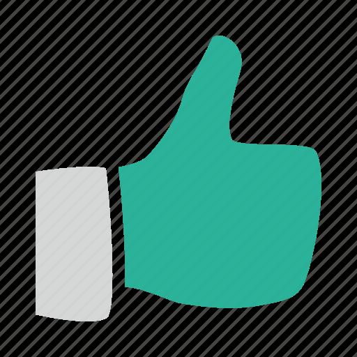appreciate, favorite, hand, like, thumb, up, value icon