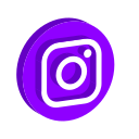 instagram, logo, media, online, play, social icon