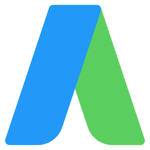 adwords, logo, social, social media icon
