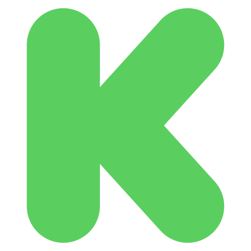 Kickstarter, logo, social, social media icon