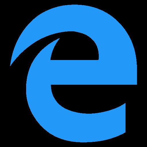 browser, e, edge, logo icon