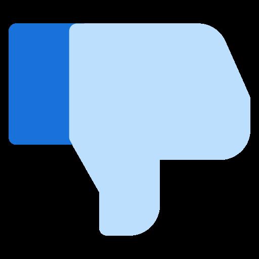 dislike, facebook, fb, logo, social, social media icon