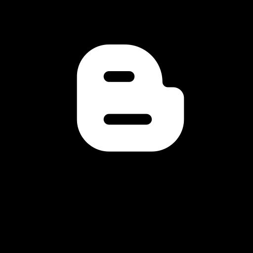 blogger, logo, media, social icon