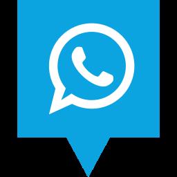 logo, media, social, whatsapp icon
