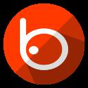 badoo, communication, connection, internet, media, multimedia, social icon