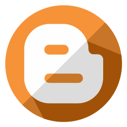 blogger, business, communication, internet, online, page, web icon