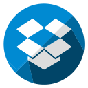 cloud, communication, database, dropbox, internet, seo, storage icon