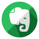 document, evernote, internet, notes, online, page, web icon