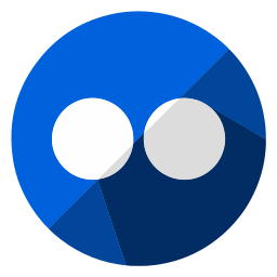 browser, business, flickr, internet, online, sharing, web icon