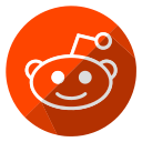 communication, internet, media, network, reddit, social, web icon