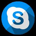 chat, communication, internet, media, skype, social, web icon