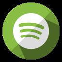 communication, internet, media, multimedia, music, social, spotify icon