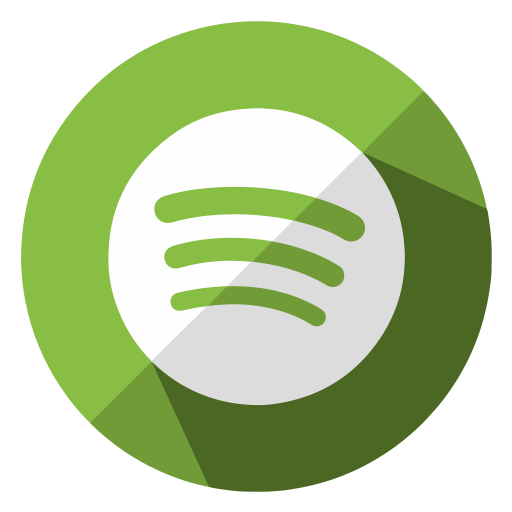 communication, internet, media, multimedia, music, social, spotify icon