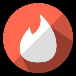 gps, internet, location, map, share, tinder, web icon