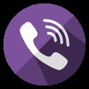 communication, connection, internet, mobile, smartphone, telephone, viber icon