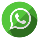 chat, communication, internet, media, message, social, whatsapp icon